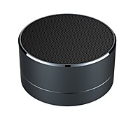 Wireless Bluetooth Speakers LED Metal Steel Mini Portable Speaker Smart Hands Free Speaker With FM Radio Support SD Card