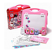Hello Kitty Genuine Children Multifunction Portable Easel Easel Painting Tools Stationery Set