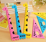 Cute Giraffe Goat Ruler Set