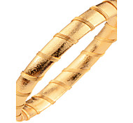 New Trendy WomanMen Bangle Bracelets Jewelry Gift 18k Gold Plated Classic Design Fashion Unisex Jewelry Bangles BR70070
