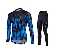 High Quality Spring Autumn Long Sleeve Cycling Jersey Sets Breathable Gel Padded Bicycle Sportswear Cycling Clothings