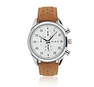 WEIYAQI Men's Watch / Casual Watch / Fashion Watch / Quartz Calendar / Student Watch