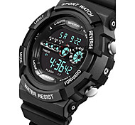 SANDA® Men's Smart Watch Sport Military Style Waterproof Sport Japanese Quartz Watches Shock Men's Relogio Digital Watch