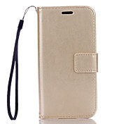 PU Leather Material Plain Solid Color Phone Cases for Samsung Galaxy A510/A310
