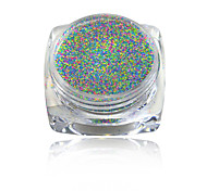 1g Mixed Color Nail Sugar Powder Nail Art Dust Tips Nail Decorations Dazzling Manicure Craft #523-532