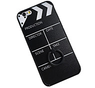 Filming Film Clap Board Ring Holder Soft Back Cover iphone Case for iphone 6s Plus/iphone 6s/iphone 6