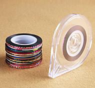 1set Nail Art Sticker Gioielli per unghie / Adesivi 3D unghie makeup Cosmetic Nail Art Design