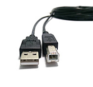 USB Printer Cable USB2.0 High-Speed Data Line Printer Cable USB to Print Line Side Port