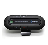 Bluetooth Car Kit Wireless Bluetooth Slim Magnetic Handsfree Car Kit Speaker Phone Visor Clip Bluetooth Aux High Quality