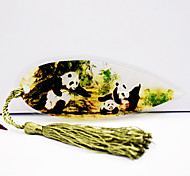 Chinese National Treasure Panda Fig Three Homes Vein Bookmark Features Children'S Day Gift To Send Foreigners Abroad