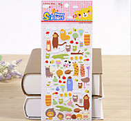 Stationery Mobile Phone Diary Diy Decorative Stickers