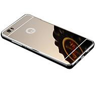 Per retro Placcatura / A specchio Tinta unita Acrilico Difficile Copertura di caso per HuaweiHuawei P8 / Huawei P8 Lite / Huawei P7 /