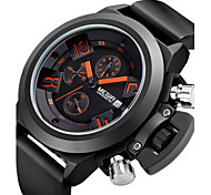 MEGIR®Brand Men's Popular Watches Date Chronograph Sport Watch Men Waterproof Military Watch Silicone Wristwatch Fashion Cool Watch Unique Watch