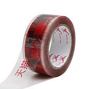 duas fitas de advertência Tmall vermelho por pacote