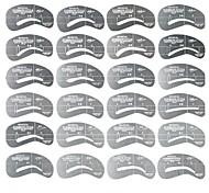 Plantilla para Cejas PVC 24PCS Others Normal Transparentes