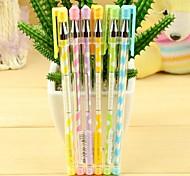 Color Stripe Neutral Pen(12PCS)