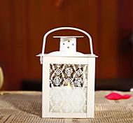 Natal castiçal de vidro doméstico ato criativo do ofing papel é provado artigos de mobiliário não contém vela