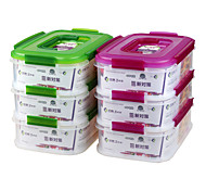 Rectangular Outdoor Food Storage Boxes for Cheese Cake