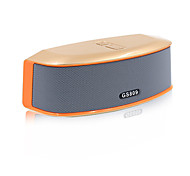 RICHSO Multimedia Mini HIFI V3.0 Bluetooth Speaker with Stereo FM AUX Wireless Super Bass Built in Mic Boombox for PC