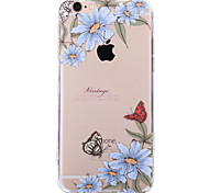 For Apple iPhone 7 7Plus  6S 6S Plus Case Cover Butterfly Pattern Painted Acrylic Material Soft Package Phone Case