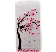 For Wiko Lenny 3 Lenny 2 Case Pattern Case Back Cover Case Flower Soft TPU