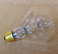 G95 Edison Diamond Sky Star Light Bulb E27 3W 2300K 220V Warm Yellow
