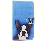 Для wiko lenny 3 lenny 2 собака модель pu кожа полный корпус с подставкой и слот для карт для wiko lenny 2 lenny 3 sunset 2