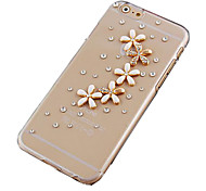 The Daisy with Drill Pattern Hard Back Case for iPhone 6 Plus