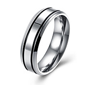 Ring Jewelry Steel Silver Jewelry Casual 1pc