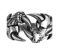 Men's Ring Jewelry Fashion Personalized European Steel Skull / Skeleton Dragon Jewelry For Party Halloween Daily Casual