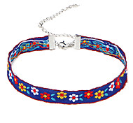 New Arrival Women's Fashion Luxury European Vintage Embroidery Choker Necklace for Women