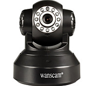 WANSCAM® 1.0 MP PTZ IndoorDay Night Motion Detection Dual Stream Remote Access Plug and play Wi-Fi Protected Setup)
