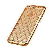 Per Custodia iPhone 7 / Custodia iPhone 7 Plus / Custodia iPhone 6 Placcato / Ultra sottile Custodia Custodia posteriore CustodiaTinta