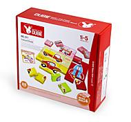 Puzzle per il regalo Costruzioni Nuovi giochi Quadrata Plastica sopra 3 Arcobaleno Giocattoli