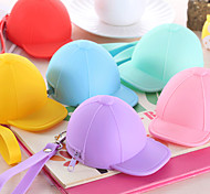 Baseball Cap Colorful Silicone Change Purse