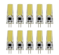 9 G4 Luces LED de Doble Pin T 1 COB 350 lm Blanco Cálido / Blanco Fresco Decorativa AC 100-240 V 10 piezas