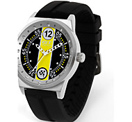 Fashion Men's GT Racing Watches Mens Silicone Watches Quartz Analog Casual Wristwatch Sport Watch