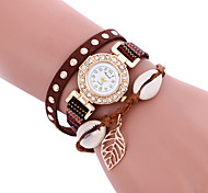 Women's Casual Fashion Quartz Watch Personality Simple Wrist Round Alloy Dial Watch Cool Watch Unique Watches