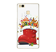 For Huawei P9 P9 lite P8 P8 lite Christmas gifts TPU Soft Case Cover