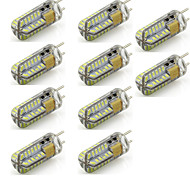 2 G6.35 2-pins LED-lampen T 48 SMD 3014 260 lm Warm wit / Koel wit Decoratief AC 12 V 10 stuks