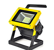 30W Rechargeable 24 LED RGB Flood Work Light Portable 18650 Caravan Camping Lamp
