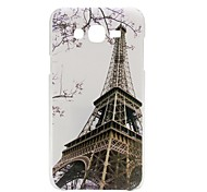 Painted Transmission Tower PC Phone Case for Galaxy J3(2016) J3 C7 C5