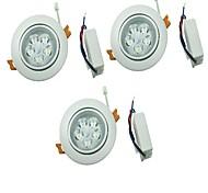 LED a incasso Bianco caldo / Luce fredda LED 3 pezzi