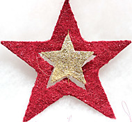 1PC Christmas Five-Pointed Star Decoration For Christmas Costume Party