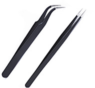 Tweezers Head Elbow Straight Manicure Stick diamond Nail Accessories Sticker Decals Diamond Patch Tool
