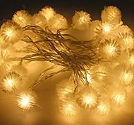 100-водить 10m звезда свет водонепроницаемый штекер открытый свет украшения рождества праздник вел свет шнура