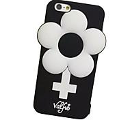 Für iPhone 7 Hülle / iPhone 7 Plus Hülle / iPhone 6 Hülle Stoßresistent Hülle Handyhülle für das ganze Handy Hülle Blume Weich Silikon