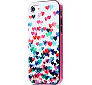 Para Funda iPhone 7 / Funda iPhone 7 Plus Antigolpes / Diseños Funda Cubierta Trasera Funda Corazón Suave TPU AppleiPhone 7 Plus / iPhone