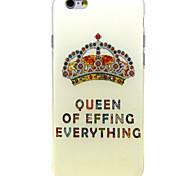 алмаз короны шаблон ТПУ мягкий переплет для iPhone 6 Plus