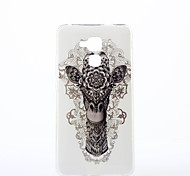 Sika Deer Pattern TPU IMD Soft Case for Huawei Honor 7 5C 5X 4A V8 Y560